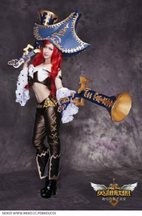 fenhou as Miss Fortune