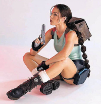 Ana Ferreira as Lara Croft