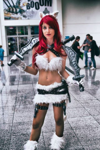 Anissa Baddour Cosplay as Katarina