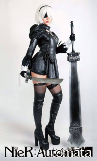 Hana's Cosplay as 2B