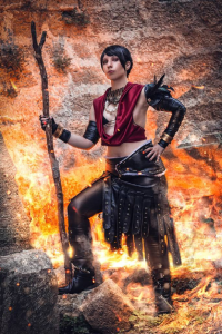 Geemiitah as Morrigan