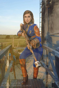 April Gloria as Vault Dweller