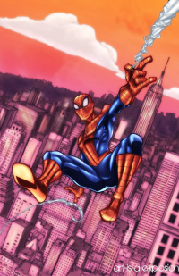 Spider-Man from Art-is-a-explosion