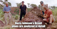 Boris Johnson's Brexit plans are analyzed in detail