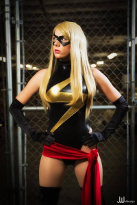 Constantine In Tokyo as Ms. Marvel