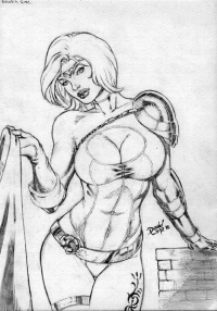Power Girl from David Lima