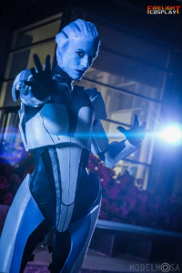 Firelight Cosplay as Liara T'Soni