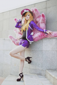 Dea as Ahri/Popstar