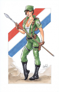 Lady Jaye from Elias Chatzoudis