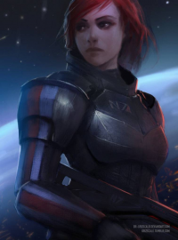 Jane Shepard from Dr-grizscald