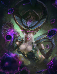 Syndra from Purple Thunder