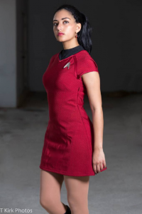 Queen Nyota Cosplay as Starfleet Officer