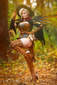 Lisa Lou Who as Mercy/Witch