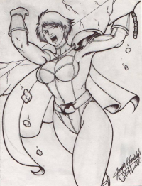 Power Girl from Demunlawin Jash