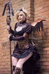 Demorafairy Cosplay as Mercy
