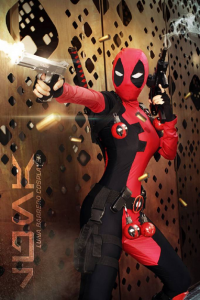 Luna Barrero Cosplayer as Deadpool