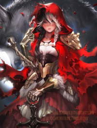 Little Red Riding Hood from Sakimi Chan