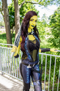 Allure Cosplay as Gamora