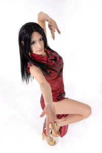 Tasha Cosplay as Boa Hancock