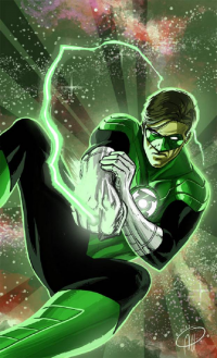 Green Lantern from Albert Hulm