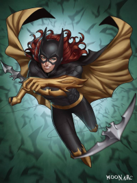 Batgirl from Audia Pahlevi