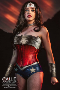 Leah Burroughs as Wonder Woman