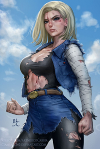 Android 18 from Mirco Cabbia