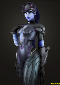 Widowmaker from Generalthunderbat