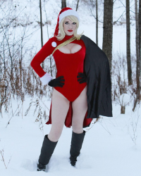 Toxik Fox Cosplay as Power Girl