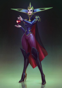 The Evil Queen from Anna Maystrenko