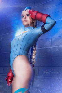 Maru Cosplays Babes as Cammy White