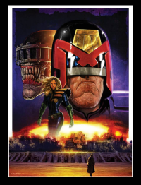 Judge Dredd from Liam Sharp