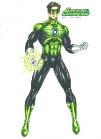 Green Lantern from Bojan Aleksic