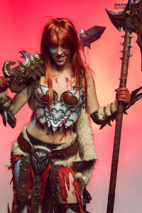 Lilith Cos as Barbarian
