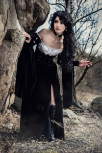 Great Queen Linas Creativity as Yennefer