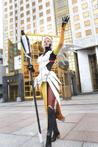 Anna Ormeli as Mercy