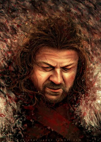 Eddard Stark from To Slash A Twisted Line