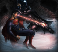 Batman, Superman from Charles Logan
