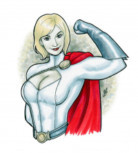 Power Girl from Chris Butler