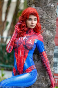 Justagh0stgirl Cosplay as Mary Jane Watson/Spider Girl