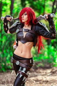 Lady Ao Cosplay as Katarina