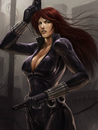 Black Widow from Ceasar Ian Muyuela