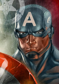 Captain America from 16siddhartha