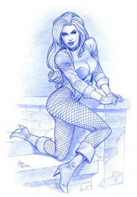 Black Canary from Dave Hoover
