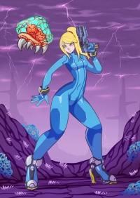 Samus Aran from Alan Campos
