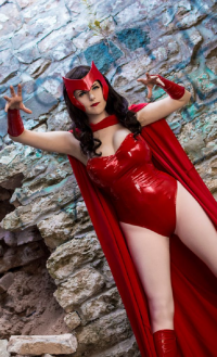 Lossien as Scarlet Witch