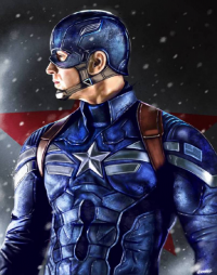 Captain America from Andrey Pankov