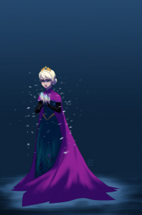 Elsa of Arendelle from Alex Vrsalovich
