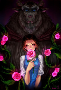 Belle, Beast from Aireenscolor