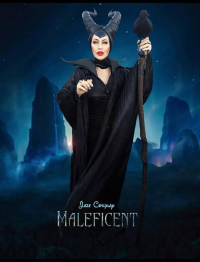L.A. JAZE Cosplay as Maleficent